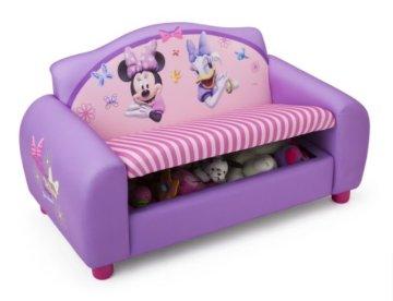 Delta Kindersofa Minnie Mouse mit Stauraum