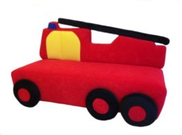 glubschi Kindersofa Feuerwehr - 1
