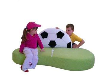 glubschi Kindersofa Fußballwiese