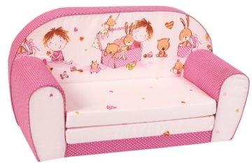 knorr-baby Kindersofa pink - 1