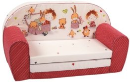 knorr-baby Kindersofa rot - 1