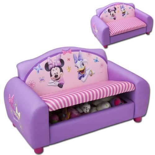 alles ber tw24 kindersofa minnie mouse. Black Bedroom Furniture Sets. Home Design Ideas
